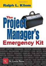 Project Manager's Emergency Kit
