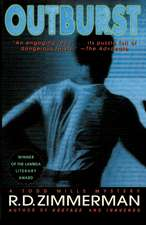 Outburst: A Todd Mills Mystery