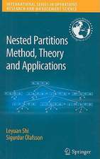 Nested Partitions Method, Theory and Applications