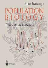 Population Biology: Concepts and Models