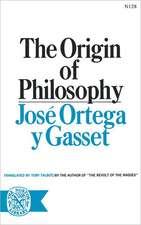 The Origin of Philosophy