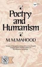 Poetry and Humanism
