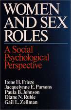 Women and Sex Roles – A Social Psychological Perspective