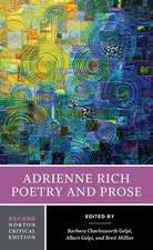 Adrienne Rich – Poetry and Prose 2e