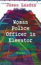 Woman Police Officer in an Elevator (Paper)