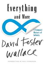 Everything and More – A Compact History of Infinity