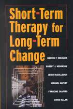 Short–Term Therapy for Long Term Change
