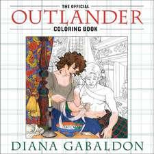 The Official Outlander Coloring Book: Carte de colorat pentru adulți