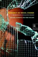 Research as Social Change