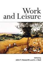 The Future of Work and Leisure