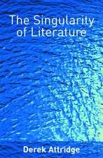 The Singularity of Literature