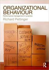 Organizational Behaviour:  Performance Management in Practice. Richard Pettinger