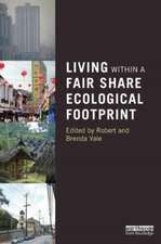 Living Within a Fair Share Ecological Footprint:  Reframing Curriculum, Pedagogy and Research