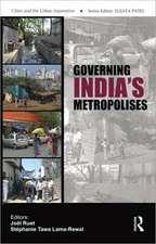 Governing India's Metropolises