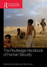 Routledge Handbook of Human Security:  Rights, Realities and Realization