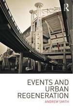 Events and Urban Regeneration