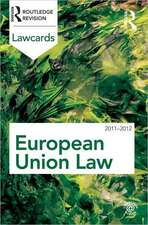 European Union Lawcards 2011-2012:  Examining and Debating the Complexities of Inter/Professional Working
