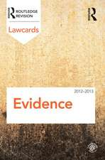 Evidence:  Readings and Cases in a Global Context