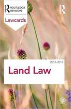 Land Law:  Readings and Cases in a Global Context