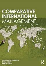 Comparative International Management