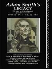 Adam Smith's Legacy