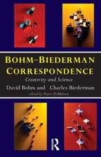 Bohm-Biederman Correspondence:  Creativity in Art and Science