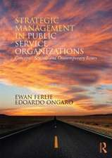 Strategic Management in Public Services Organizations