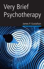 Very Brief Psychotherapy