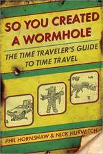 So You Created a Wormhole: The Time Traveler's Guide to Time Travel