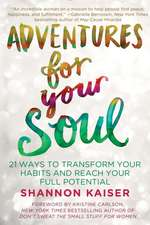 Adventures for Your Soul:  21 Ways to Transform Your Habits and Reach Your Full Potential