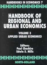 Handbook of Regional and Urban Economics: Applied Urban Economics
