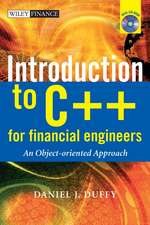 Introduction to C++ for Financial Engineers: An Object–Oriented Approach