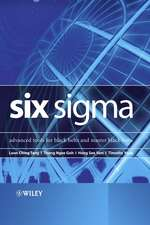 Six Sigma: Advanced Tools for Black Belts and Master Black Belts