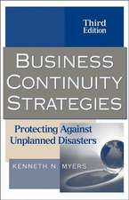 Business Continuity Strategies: Protecting Against Unplanned Disasters