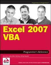 Excel 2007 VBA Programmer′s Reference