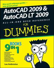 AutoCAD 2009 and AutoCAD LT 2009 All–in–One Desk Reference For Dummies