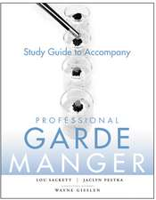 Study Guide to accompany Professional Garde Manger: A Comprehensive Guide to Cold Food Preparation