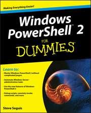 Windows PowerShell 2 For Dummies