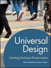 Universal Design: Creating Inclusive Environments