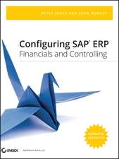 Configuring SAP ERP Financials and Controlling