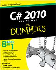 C# 2010 All–in–One For Dummies