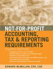 Not–for–Profit Accounting, Tax, and Reporting Requirements