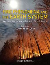 Fire Phenomena and the Earth System: An Interdisciplinary Guide to Fire Science