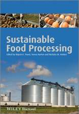 Sustainable Food Processing