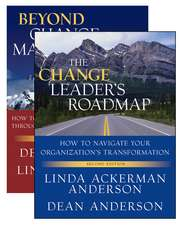 The Change Leader′s Roadmap and Beyond Change Management: Two Book Set