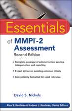 Essentials of MMPI–2 Assessment
