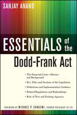 Essentials of the Dodd–Frank Act