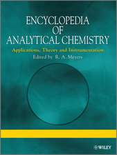 Encyclopedia of Analytical Chemistry: Applications, Theory and Instrumentation, Supplementary Volumes S1 – S3