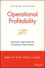Operational Profitability: Systematic Approaches for Continuous Improvement