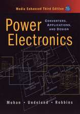 Power Electronics: Converters, Applications, and Design
